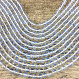 8mm White Opal Beads | Fashion Jewellery Outlet