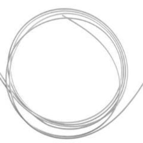 Beadalon French Wire, Silver, 0.7mm | Fashion Jewellery Outlet