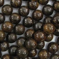 8mm Bronzite Bead | Fashion Jewellery Outlet