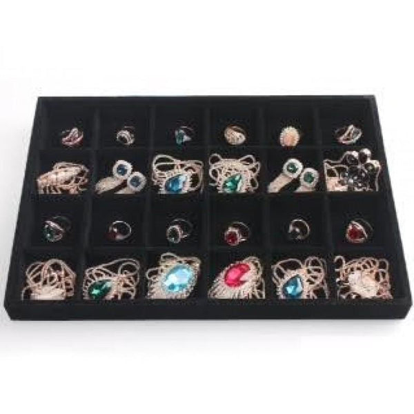 Compartment Jewelry Tray | Fashion Jewellery Outlet