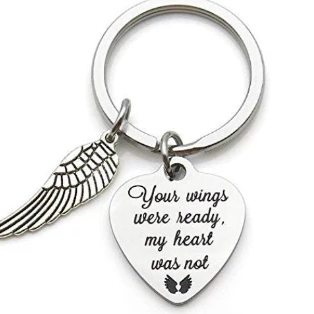 Your Wings were ready my Heart was not Custom Key Chain | Fashion Jewellery Outlet