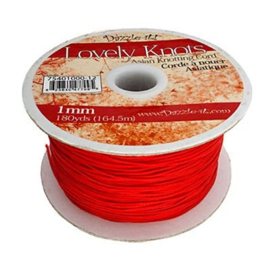 1mm Nylon Cord String for DIY | Fashion Jewellery Outlet