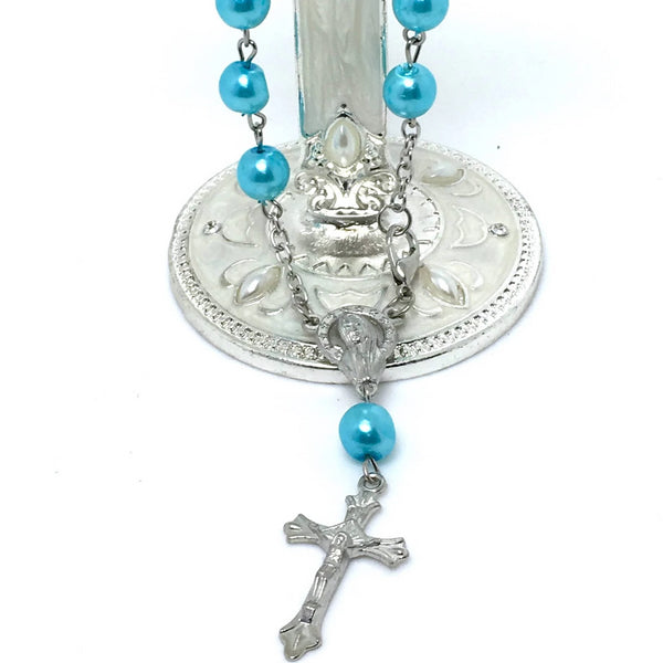 Mini Pearl Rosary | Bellaire Wholesale