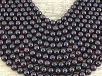 10mm Garnet Semi Precious Bead | 10mm Garnet Semi Precious Bead | Fashion Jewellery Outlet