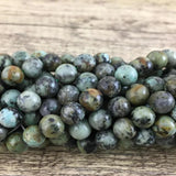 10mm African Turquoise Bead | Fashion Jewellery Outlet