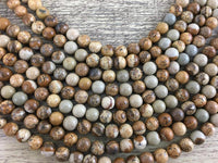 4mm Picture Jasper Bead | Fashion Jewellery Outlet