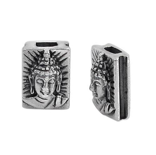 Sterling Silver Buddha Head Bead | Fashion Jewellery Outlet