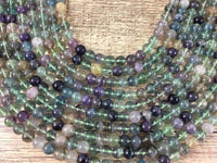 10mm Fluorite Bead | Fashion Jewellery Outlet
