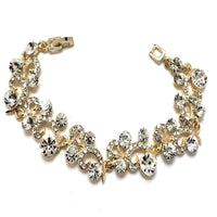 Crystal Collection, Designer Inspired Bridal Bracelet | Fashion Jewellery Outlet