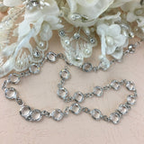 Swarovski Chain, Silver with Clear Stones, SS29 | Fashion Jewellery Outlet