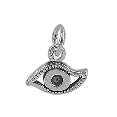 Sterling Silver Evil Eye charm | Fashion Jewellery Outlet