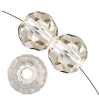 8mm Swarovski Round Crystal Silver Shade 5000 | Fashion Jewellery Outlet