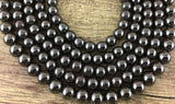 8mm Hematite Bead | Fashion Jewellery Outlet
