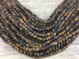 6mm Frosted Tiger Eye Bead | Fashion Jewellery Outlet