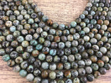 4mm African Turquoise Bead | Fashion Jewellery Outlet