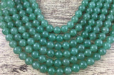 8mm Light Green Jade Bead | Fashion Jewellery Outlet