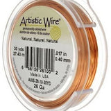 ARTISTIC WIRE 22G, Natural Copper | Fashion Jewellery Outlet