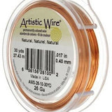 ARTISTIC WIRE 20G, Natural Copper | Fashion Jewellery Outlet