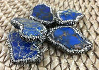 Lapis Lasuli Druzy Bead | Fashion Jewellery Outlet
