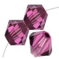 8mm Swarovski Bicone Bead Amethyst, 5328 | Fashion Jewellery Outlet