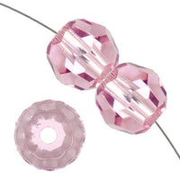 8mm Swarovski Round Crystal Light Amethyst | Fashion Jewellery Outlet
