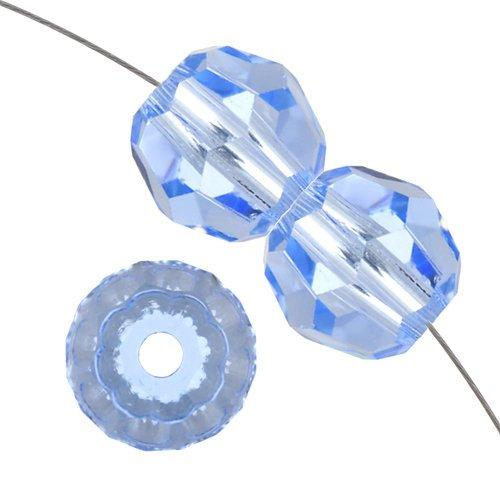 6mm Swarovski Round Bead Light Sapphire 5000 | Fashion Jewellery Outlet