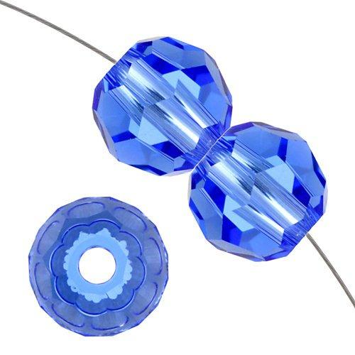 8mm Swarovski Round Crystal Sapphire 5000 | Fashion Jewellery Outlet