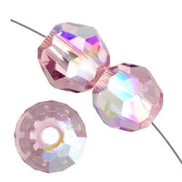 4mm Swarovski Round Light Amethyst AB 5000 | Fashion Jewellery Outlet
