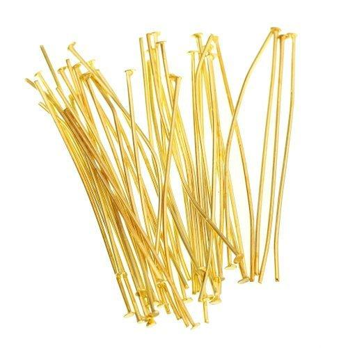 Gold Head Pins | Fashion Jewellery Outlet