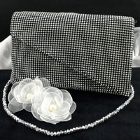 Black Mesh Clutch | Fashion Jewellery Outlet