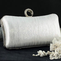 Silver Wedding Clutch | Fashion Jewellery Outlet