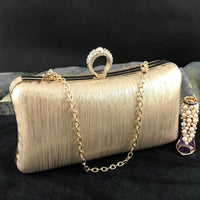 Gold Wedding Clutch | Fashion Jewellery Outlet