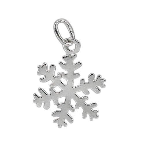 Sterling Silver Snowflake Charm | Fashion Jewellery Outlet