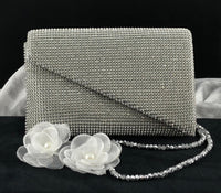 Silver Mesh Clutch | Fashion Jewellery Outlet