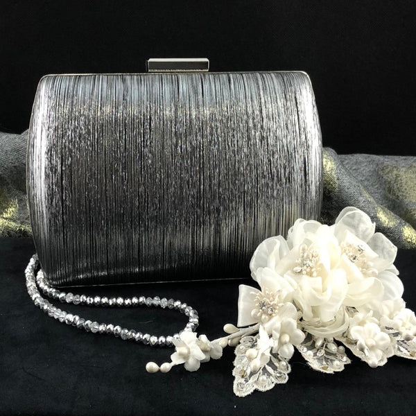 Black Wedding Clutch | Fashion Jewellery Outlet