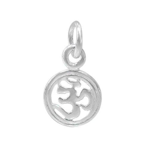 Sterling Silver Om Charm | Fashion Jewellery Outlet