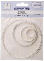 Beadalon Memory Wire Kit  .50oz, Assorted Sizes | Fashion Jewellery Outlet