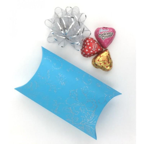Pillow Candy Box, Blue | Fashion Jewellery Outlet