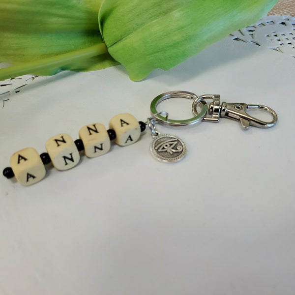 Custom Name Key Chain | Fashion Jewellery Outlet