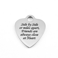 Side by Side or miles apart, Friends are always close at heart | Fashion Jewellery Outlet