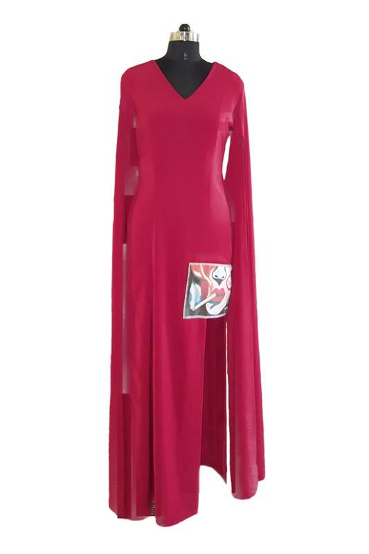 Load image into Gallery viewer, Red Sfumato Limited Edition Gown