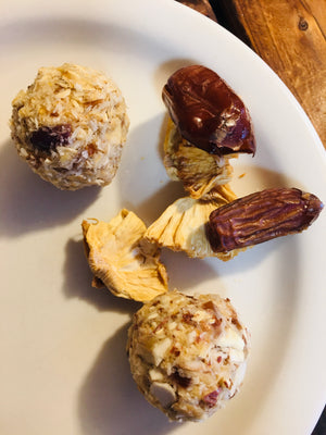 Pina Colada Energy Balls - Nut and Nut Free Version