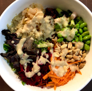 Asian buddha bowl