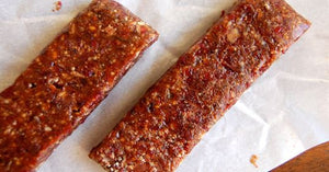 Raw Cranberry Almond Bars