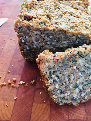 Nordic nut bread - without flour