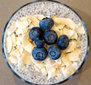 Simple Blueberry Chia Pudding