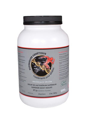 Superior Whey ISOLATE 2 LB Vanilla - SGenetic