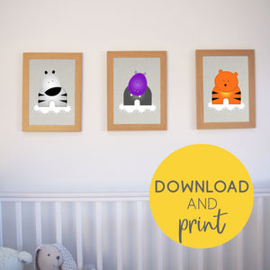 Downloadable printable artwork