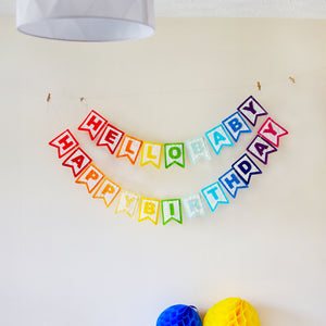 Felt party decor