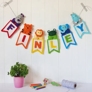 Personalised Name Garlands